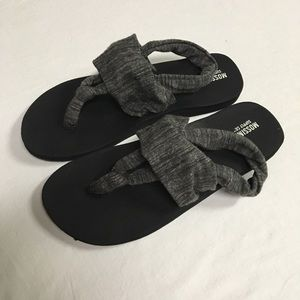 Mossimo Sandals Grey